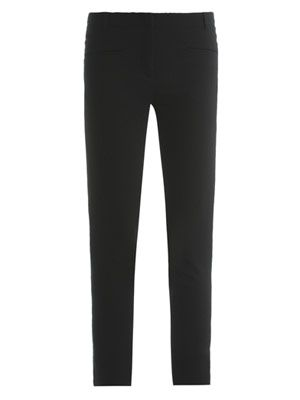 Fitted tailored trousers