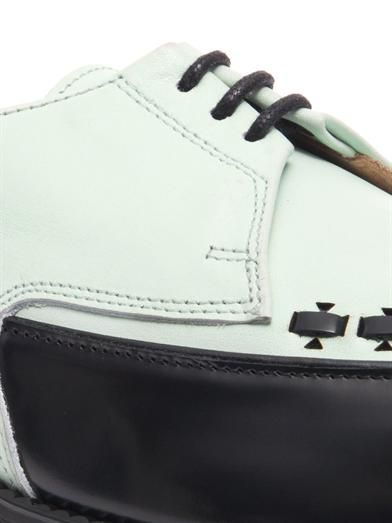Adieu Type 20 bi-colour leather brogues