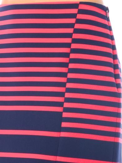 Thakoon Addition Striped mini skirt