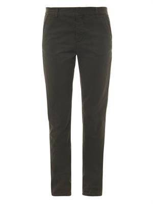 FB Slouch-fit trousers