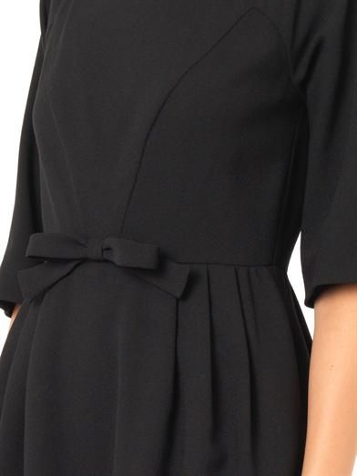 REDValentino Crepe bow dress