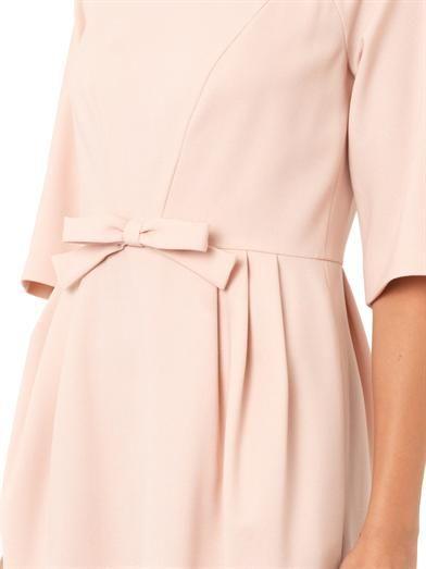 REDValentino Crepe bow dress