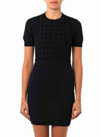 REDValentino Virgin-wool knit dress