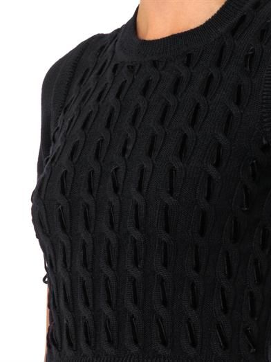 REDValentino Virgin-wool knit dress