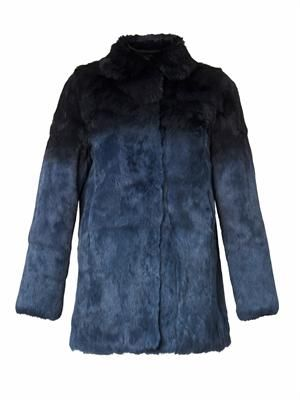 Dégradé fur jacket