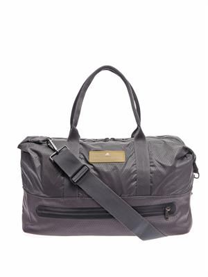 Oversized taffeta sports bag