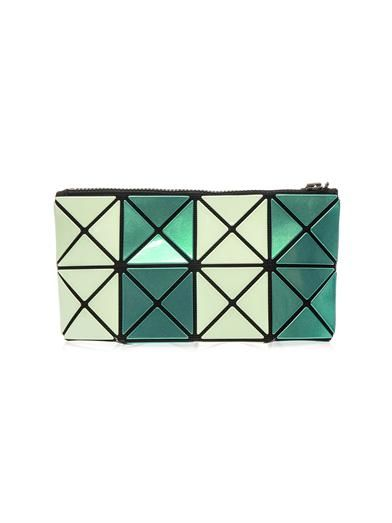 Bao Bao Issey Miyake Lucent Prism glow-in-the-dark make-up bag