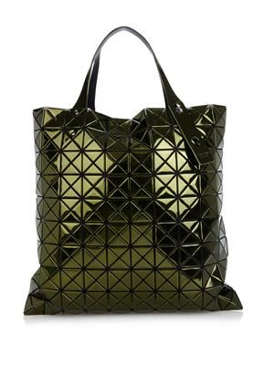 Lucent Prism large platinum shopper
