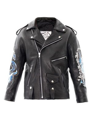 The Jewel Lake Ritual leather jacket