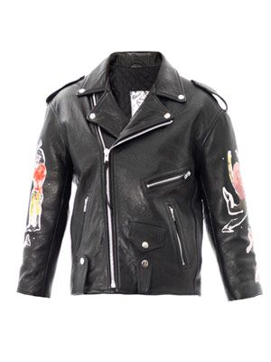 The Embers leather jacket