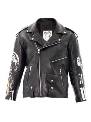 The Earth Angels leather jacket