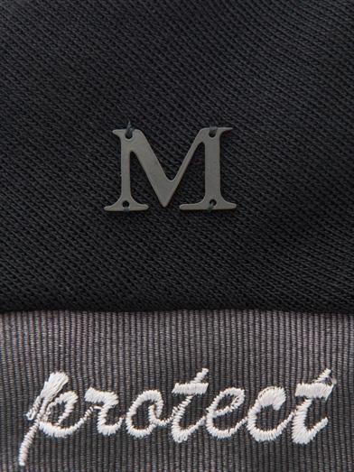 Maison Michel Melanie embroidered hat