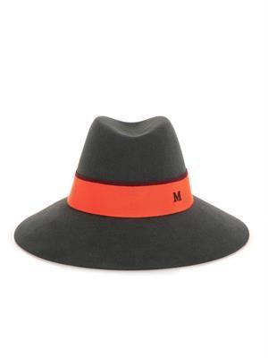 Kate wide-brimmed felt hat