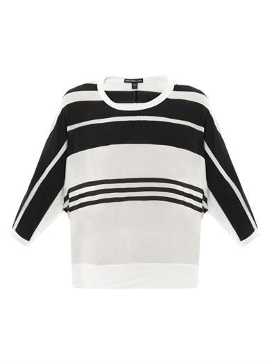James Perse Striped sweatshirt