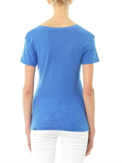 James Perse Slub jersey V-neck T-shirt