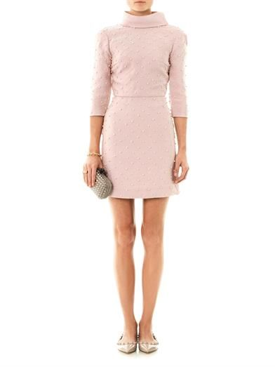 Emilia Wickstead Paloma pearl-embellished dress