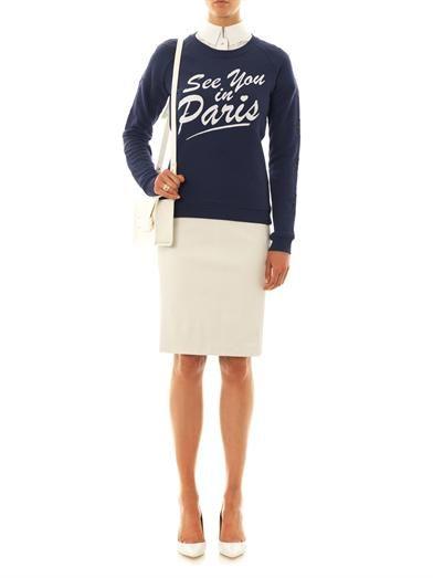 Zoe Karssen See You In Paris star sweatshirt