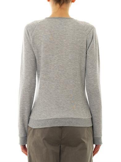 Zoe Karssen Bat-print sweatshirt
