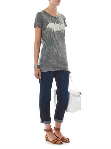 Zoe Karssen Bat-print T-shirt