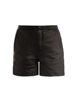 Leather short 11