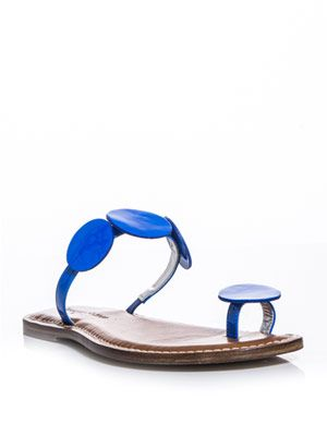 Leather Moon sandals