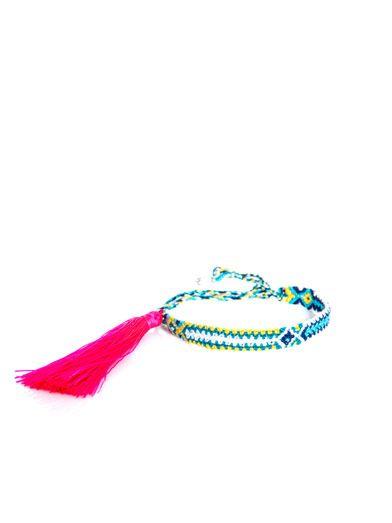 Lucy Folk Jasmine flower braided bracelet