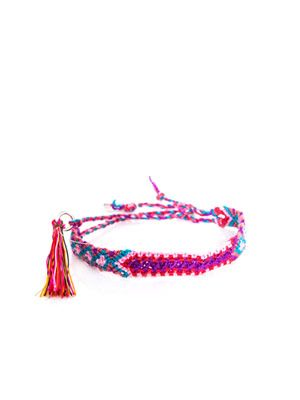 Wild Rice braided bracelet