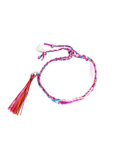 Lucy Folk Wild Rice braided bracelet