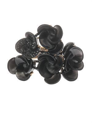 Swirl flower cuff