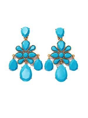 Iconic chandelier earrings
