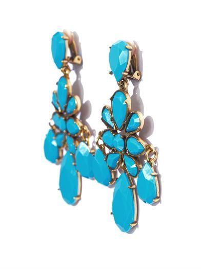 Oscar De La Renta Iconic chandelier earrings