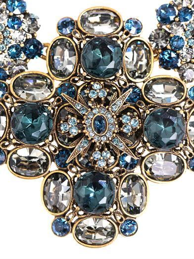 Oscar De La Renta Jewelled necklace