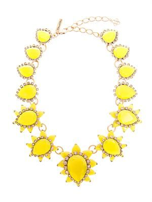 Starburst jewel necklace