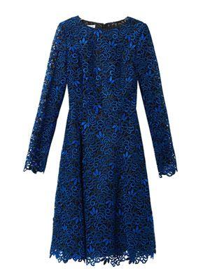 Macramé-lace dress