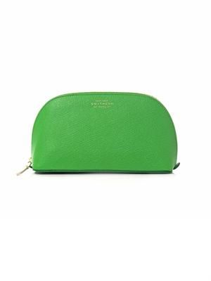 Panama leather cosmetics case