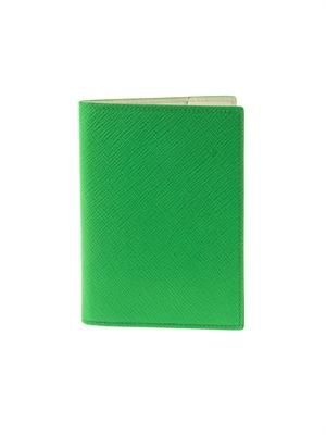Panama leather passport cover