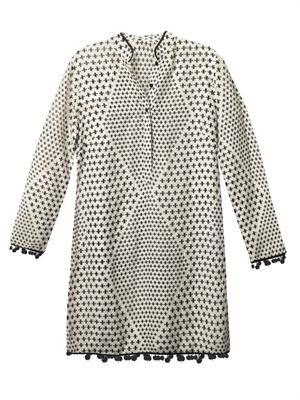 Asha Tara-print shirt dress