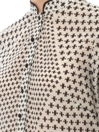 Talitha Asha Tara-print shirt dress