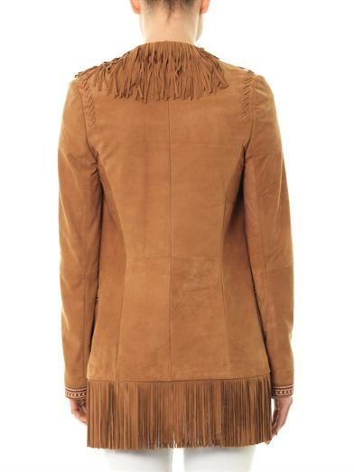 Talitha Fringe suede jacket