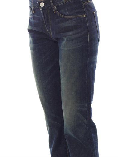 3X1 Straight-leg mid-rise boyfriend jeans