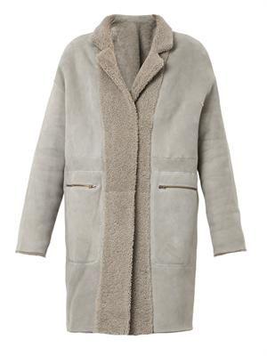 Eider reversible lambskin coat