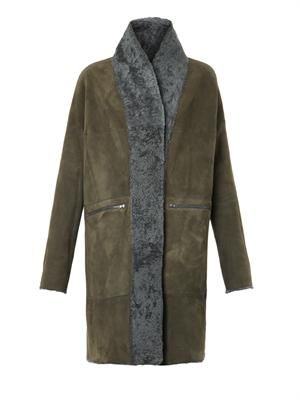 Hetre reversible lambskin coat