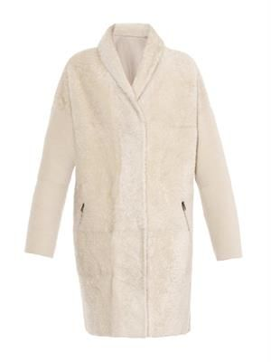 Nuvola reversible lambskin coat