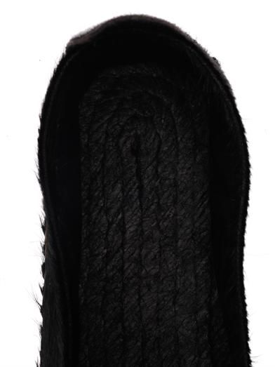 Prism Calf hair espadrilles