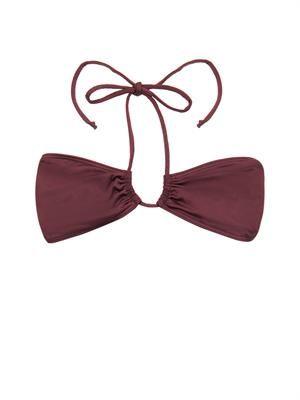 Venice bandeau bikini top