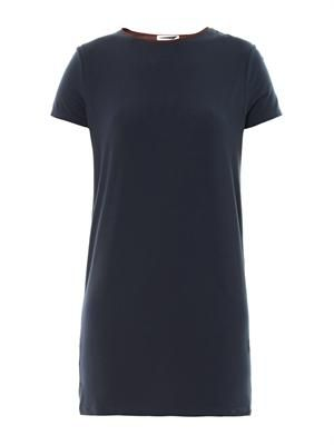 Bi-colour T-shirt dress
