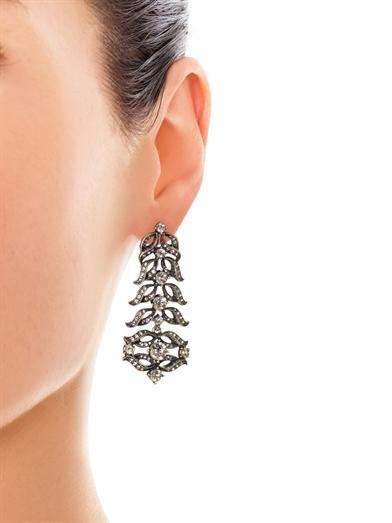 Lulu Frost Rococo statement drop earrings