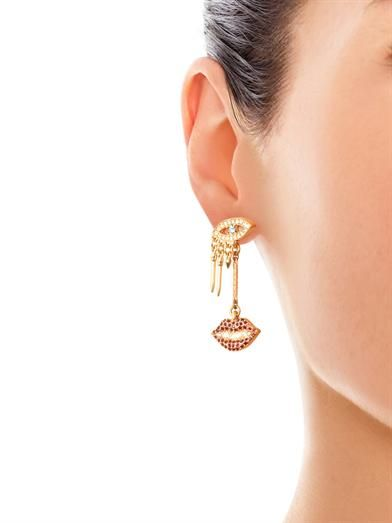 Lulu Frost Dada drop stud earrings