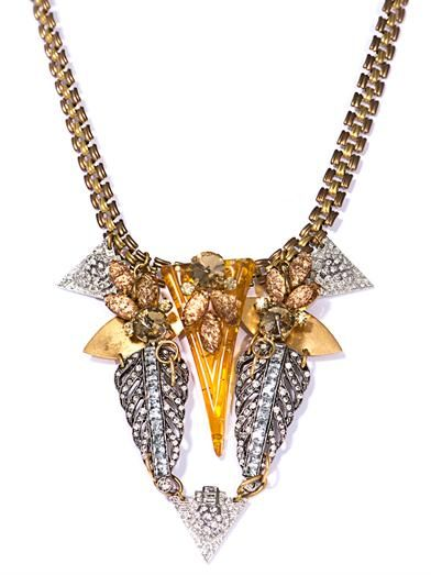 Lulu Frost Exclusive crystal necklace