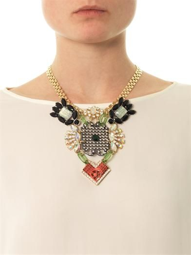 Lulu Frost Revolution crystal necklace